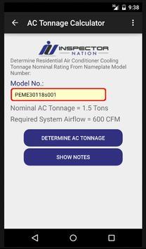 Inspection HVAC Calculator screenshot 2