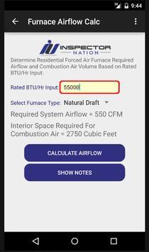 Inspection HVAC Calculator screenshot 5