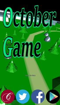OctoberGame poster