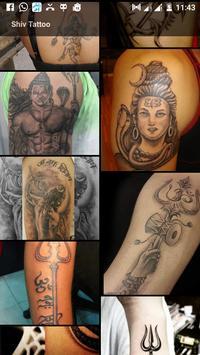 Shiv Tattoo Design poster