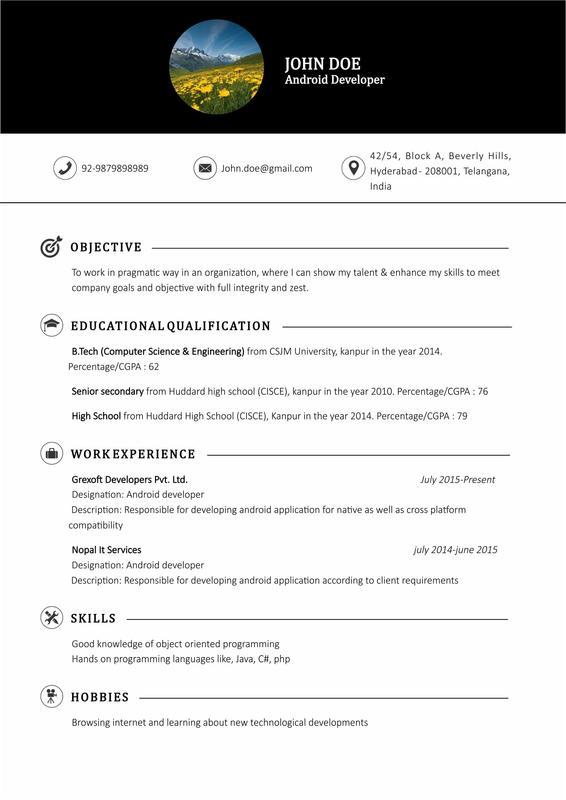 Resume Maker Descarga APK - Gratis Herramientas Aplicación para ...