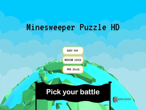 Minesweeper Puzzle HD poster