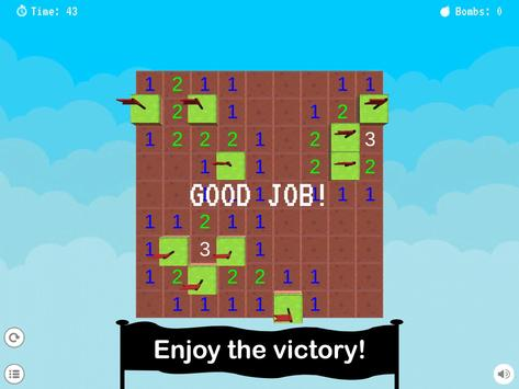 Minesweeper Puzzle HD apk screenshot