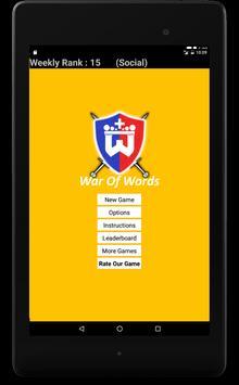 Wordentify: War Of Words apk screenshot