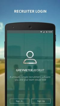 Recruitment App for Employers poster