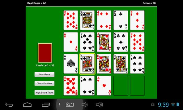 Monte Carlo Solitaire screenshot 2