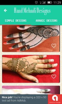Stylish New Mehndi Designs screenshot 1
