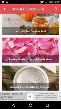 Organic Skin Care & Beauty Care: Homemade Remedies screenshot 4