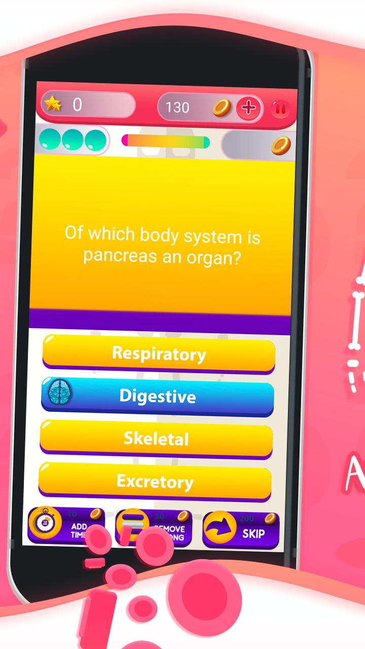 Human Anatomy And Physiology Quiz for Android - APK Download