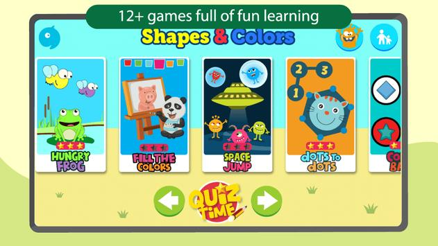 Shapes & Colors Kids Learning Games for Toddlers poster