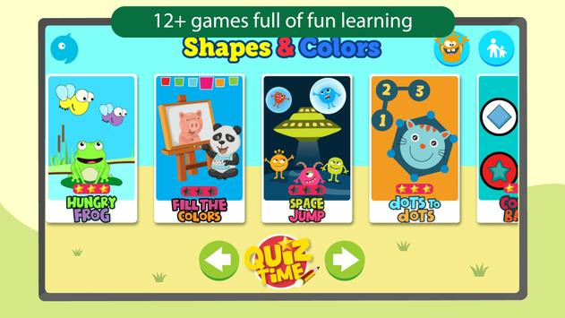 Shapes & Colors Kids Learning Games for Toddlers apk screenshot
