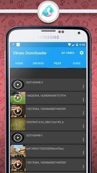 Video Downloader For Vimeo apk screenshot