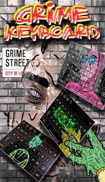 Grime Keyboard poster