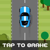 Tap to brake - Arcade car game icon