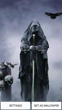 Grim reaper live wallpaper apk screenshot