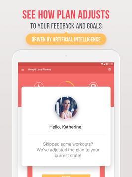Фитнес для похудения скриншот 16