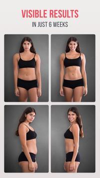 Фитнес для похудения скриншот 1