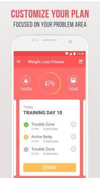Фитнес для похудения скриншот 2