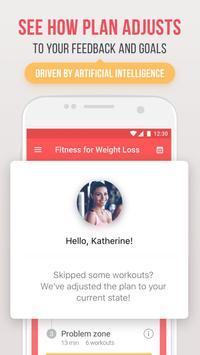 Фитнес для похудения скриншот 4