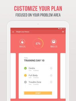 Фитнес для похудения скриншот 8