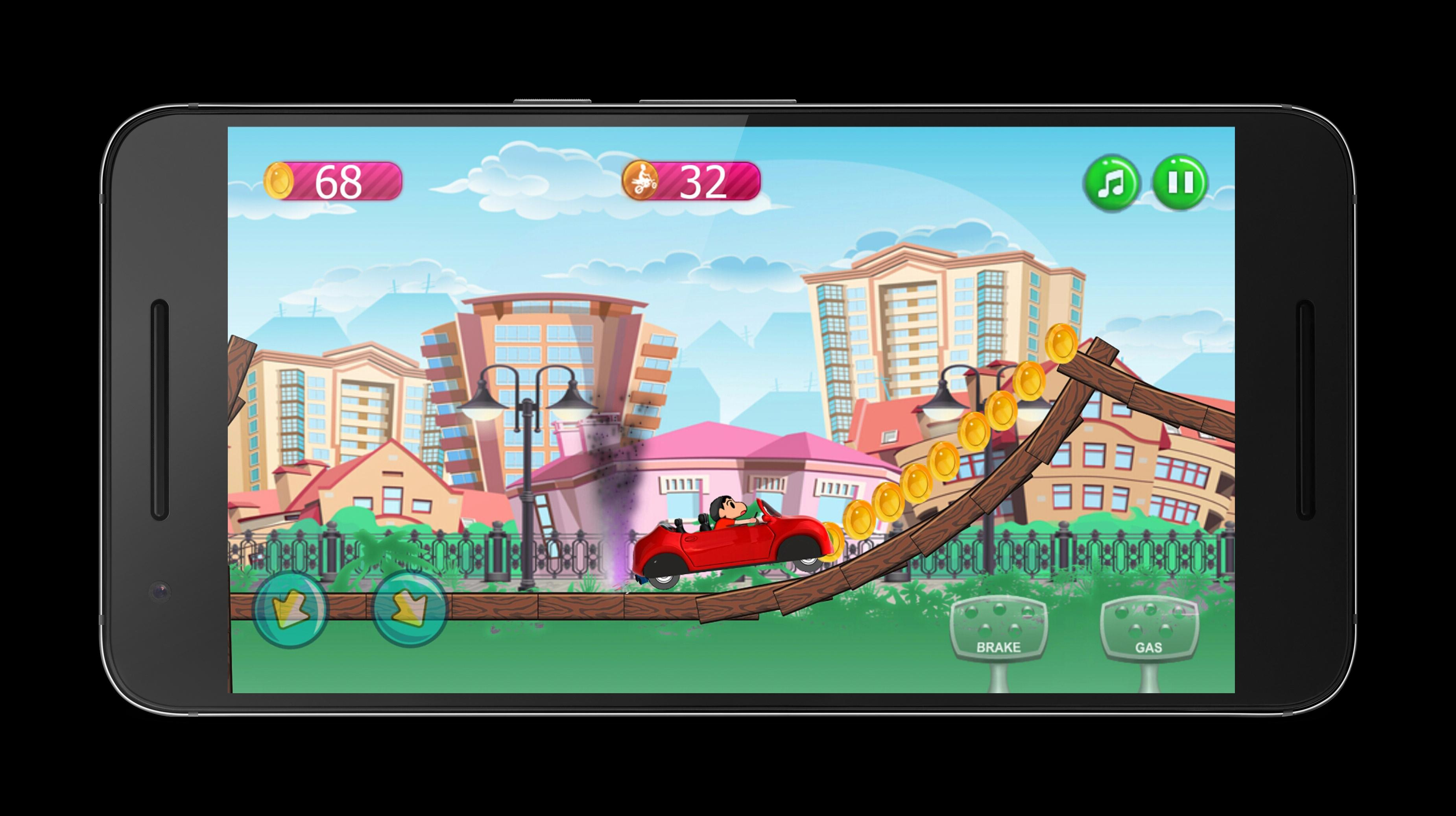 Shin Chan Car Driver For Android Apk Download
