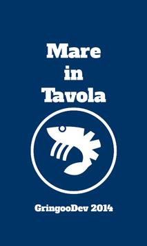 Mare in Tavola poster