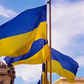 Ukraine Flag Live Wallpaper icon