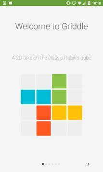Griddle - 2D Rubik's Cube poster
