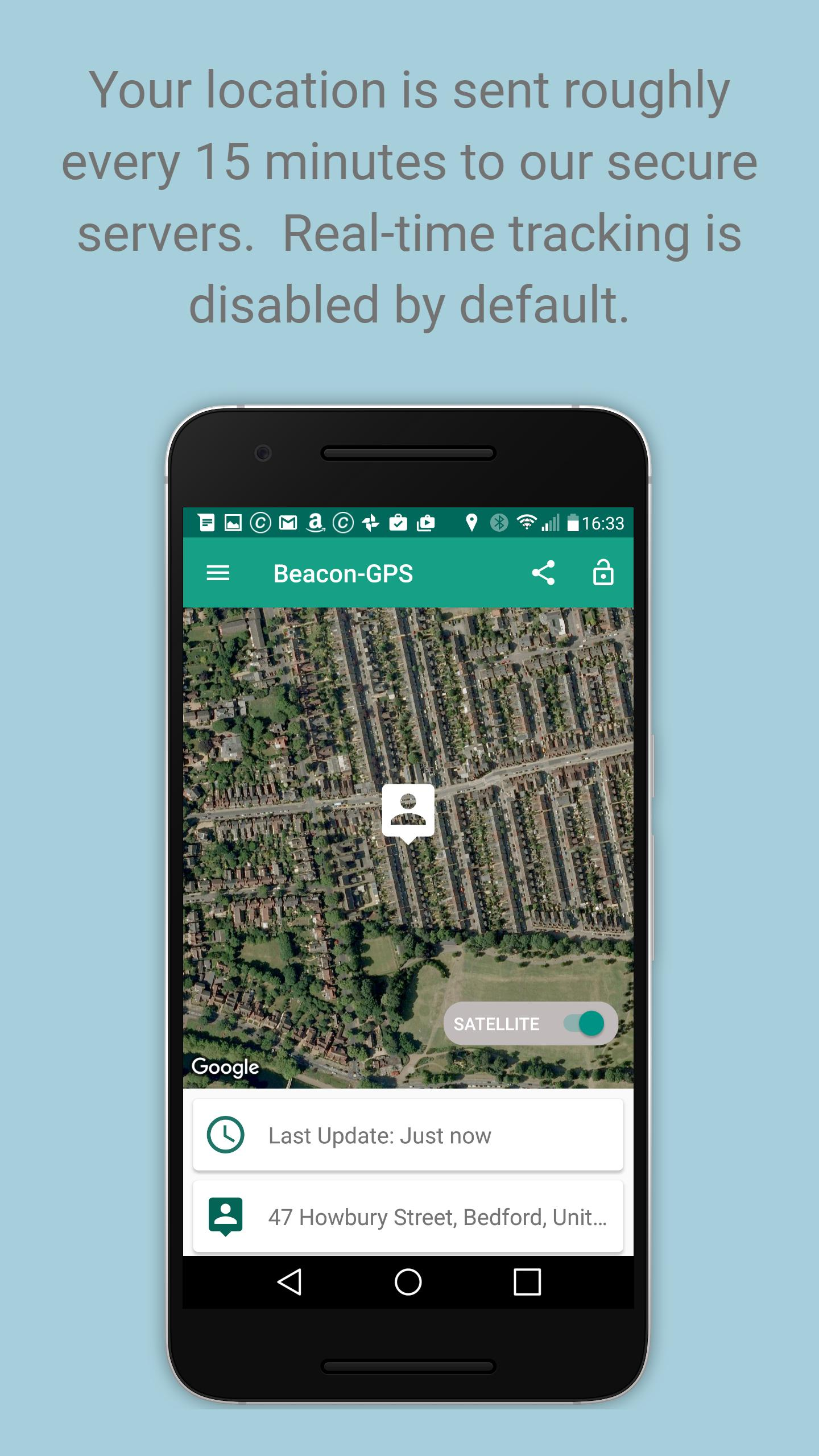 Beacon - GPS Tracker for Android - APK Download