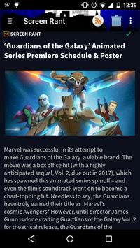 Comic and Movie News poster