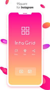 IntaGrid - Grid Maker for Instagram: Nine Square poster