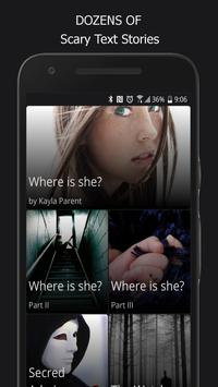 Free and Scary Chat Stories - Gripped on Texts capture d'écran 6