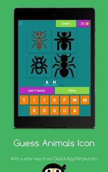 Guess Animals Icon apk screenshot