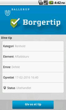 Ballerup Kommune - BorgerTip poster