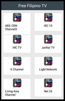 Free Filipino TV poster