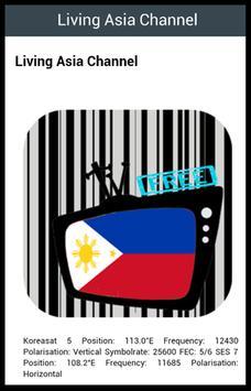 Free Filipino TV screenshot 1