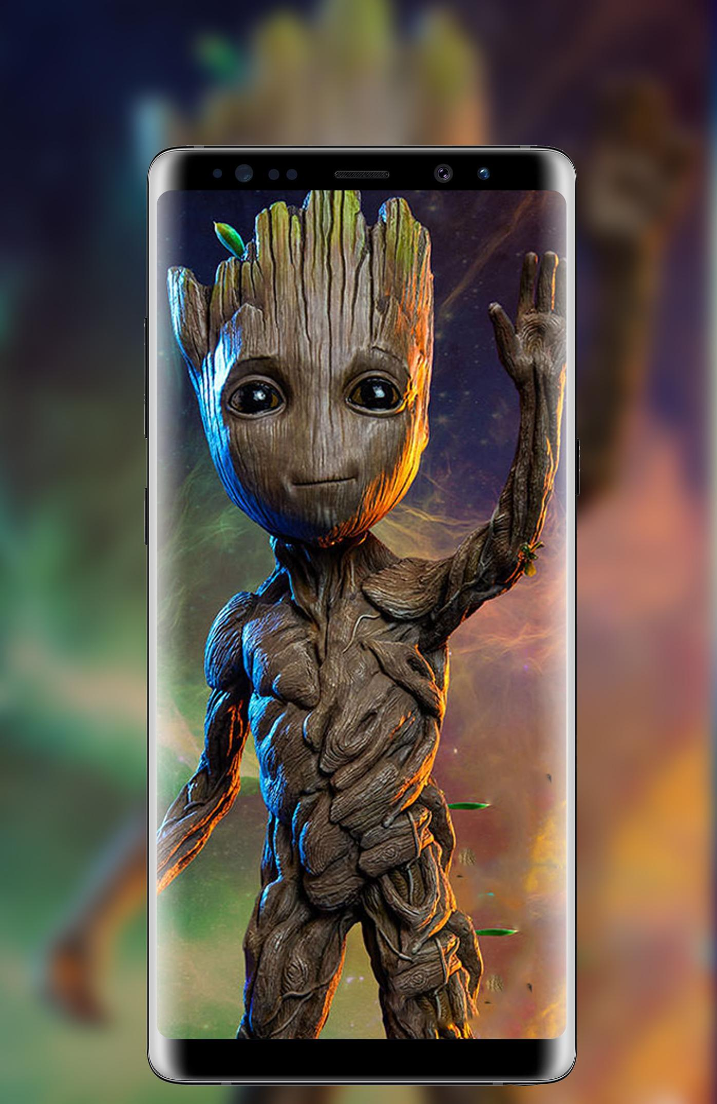 Groot Wallpaper Art For Android Apk Download