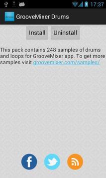 Drum Samples for GrooveMixer poster