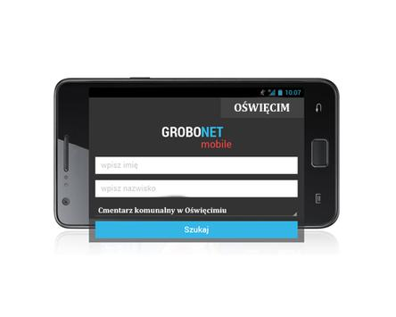Grobonet MOBILE / Oświęcim apk screenshot