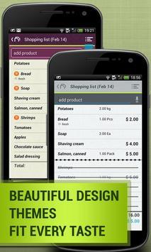 Grocery Shopping List: Listick apk screenshot