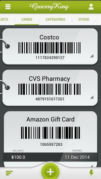 Grocery King Shop List Free apk screenshot
