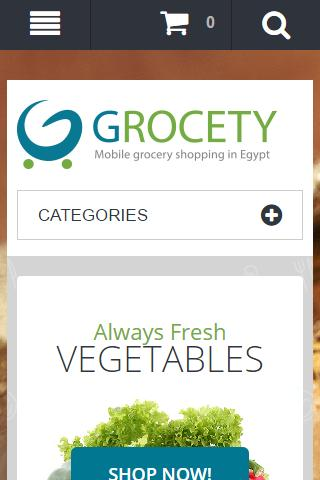 Grocety Online grocery shopping in Egypt for Android - APK