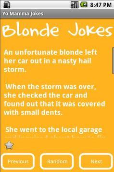 Blonde Jokes apk screenshot