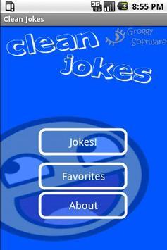 Clean Jokes poster