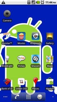 Droid Apple Background screenshot 1