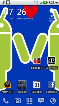 Droid Couple Background screenshot 1