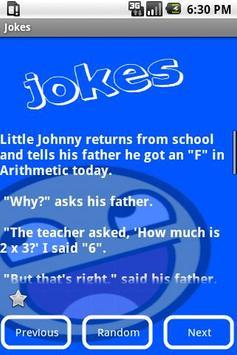 Jokes apk screenshot