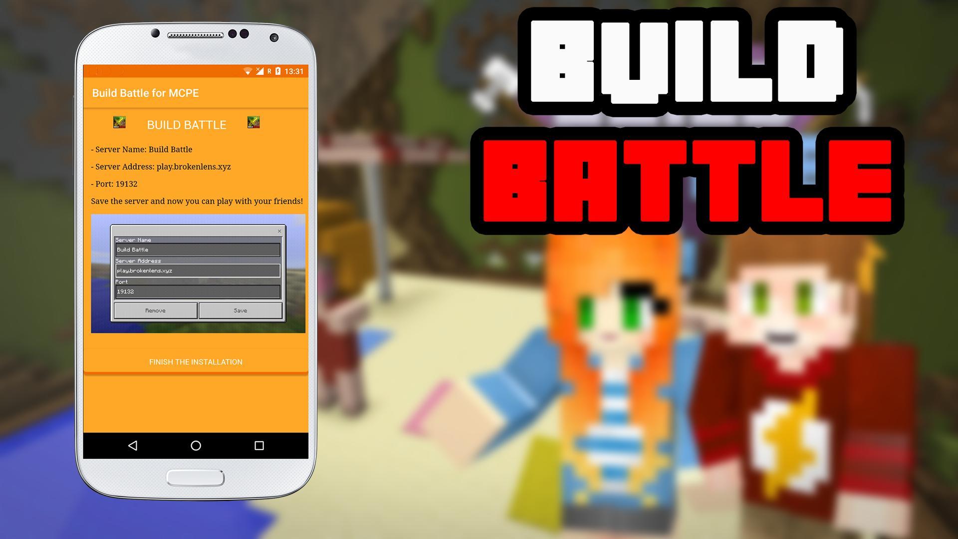 Build Battle Server for MCPE para Android - APK Baixar