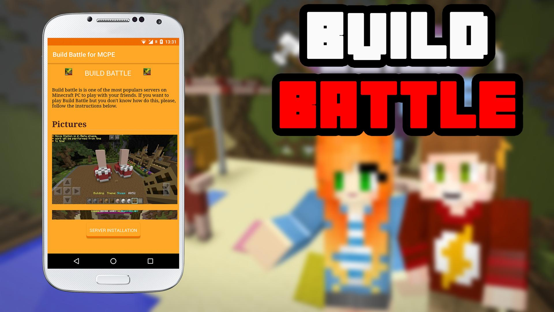 Build Battle Server for MCPE for Android APK Download