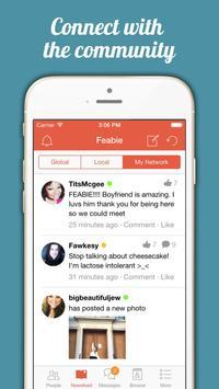 Feedee dating app
